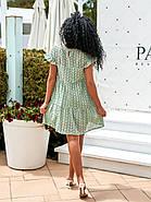 Жіноче плаття з прошви на підкладці, короткий рукав, 00896 (Олівковий), Розмір 44 (M), фото 4
