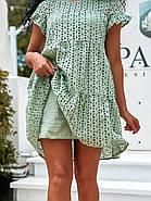 Жіноче плаття з прошви на підкладці, короткий рукав, 00896 (Олівковий), Розмір 42 (S), фото 7