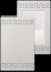 Фасад с контурной фрезеровкой 1