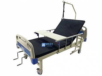 Медичне ліжко 4 секційне MED1-C09 для лікарні, клініки, будинку. Функціональне ліжко для інвалідів
