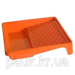 Малярная ванна320х340х65 мм, малярная пластиковая ванночка большая. Цветная.