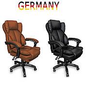 Офисное кресло для руководителя с подставкой для ног Современный дизайн эко-кожа до 120кг ts-bs05 A1