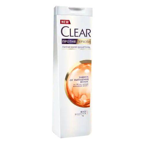 Шампунь Clear 400 мл Защита от выпадения волос женск.