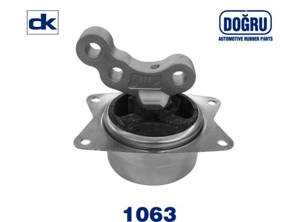 DK 1063 Опора двигателя, левая OPEL