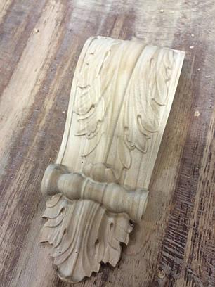 Капітель різьблена з дерева (кронштейн), фото 2