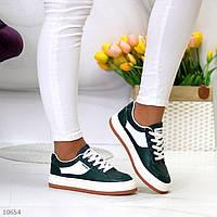 """Жіночі повсякденні кросівки Зелені """"Lanti"""", фото 1"""
