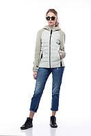 Демисезонная женская куртка ORIGA Фреш 42 Оливковый, КОД: 1398978