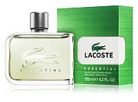 Мужская туалетная вода Lacoste Essential 125ml мужские духи парфюм зелёная Лакоста Эссеншиал