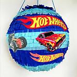 Піньята Hot Wheels хотвилс hotwheels машина машинки тачки паперова для свята, фото 2