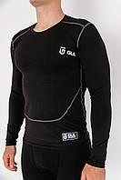 Термо-кофта GUL компресійна термобілизна чорна кофта для спорту, фото 1