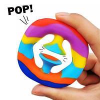 Антистрес для дитини Snapperz POP it Еспандер для розвитку зап'ястя поп іт MK011