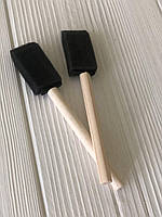 Щетка для чистки вентиляционных отверстий решеток кондиционера в авто и жалюзи 2 шт.
