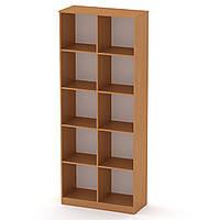 Шкаф книжный КШ-2 бук Компанит (84х36х206 см)