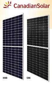 Монокристаллические солнечные панели Canadian Solar KuMax HIGH EFFICIENCY MONO PERC MODULE CS3U-380