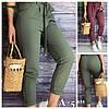 Р 42-52 Літні жіночі штани котонові 23997