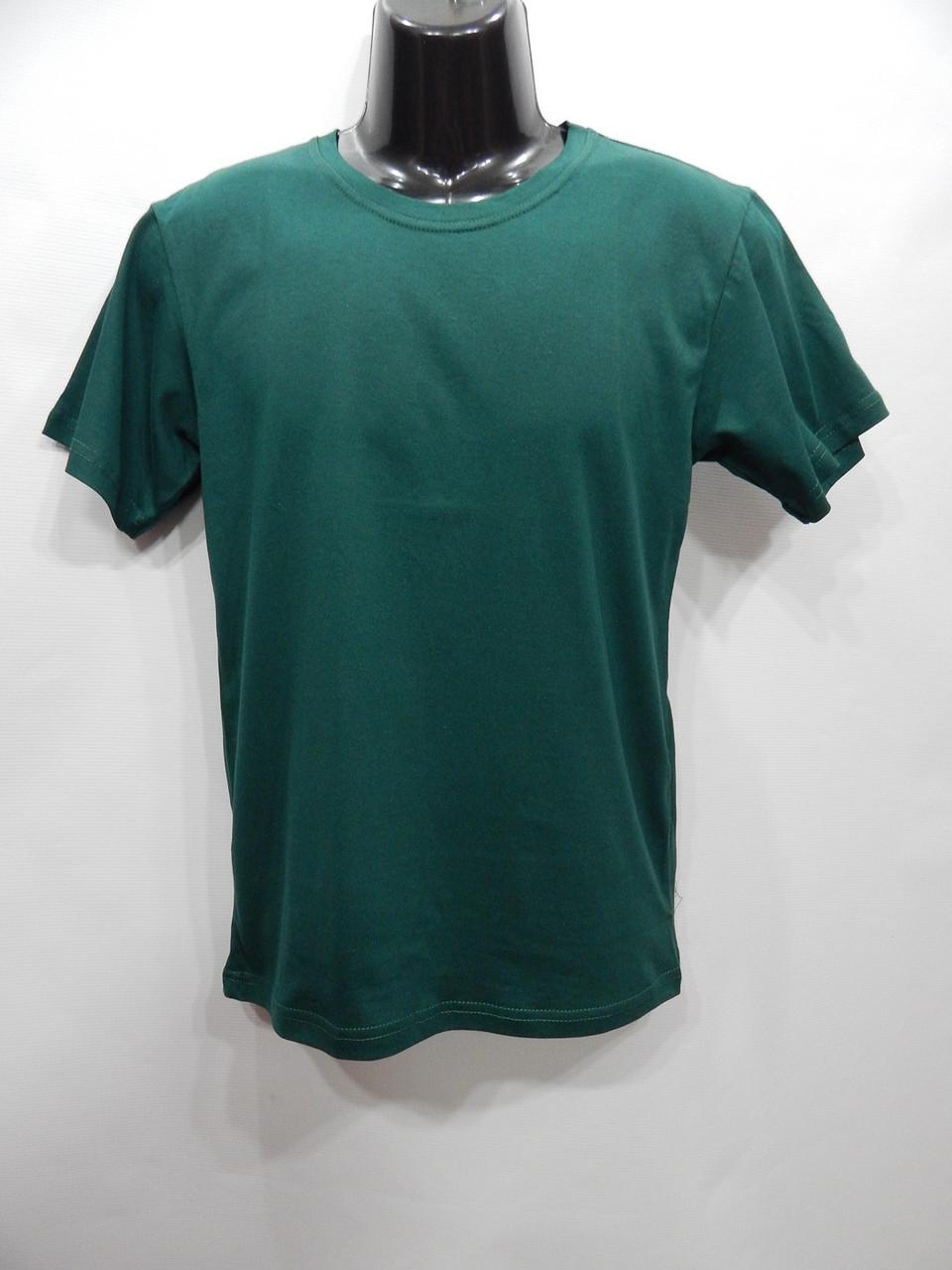 Мужская футболка Mercury-Textile зеленая р.50 066мф