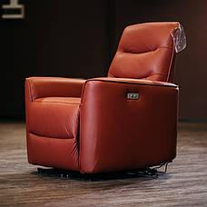 Кожаное кресло реклайнер Грин, фото 2