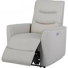 Кожаное кресло реклайнер Грин, фото 3