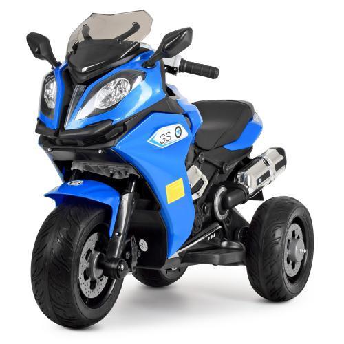 Мотоцикл дитячий двомоторний M 3913EL-4 синій
