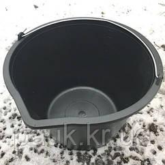Ведро строительное 8 л. Пластмассовое ведро с носиком и мерной шкалой