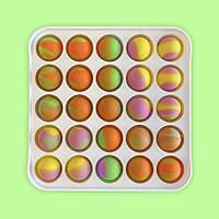 Іграшка антистрес для дітей пуш it Simple Dimple поп іт платікових корпус квадрат MK010