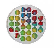 Іграшка антистрес для дітей пуш it Simple Dimple поп іт платікових корпус коло MK012