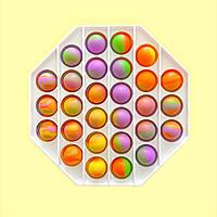 Іграшка антистрес для дітей пуш it Simple Dimple поп іт платікових корпус восьмикутник MK013