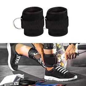 Манжета тканевая для ног, тяги на тренажере с липучкой OSPORT (OF-0091)