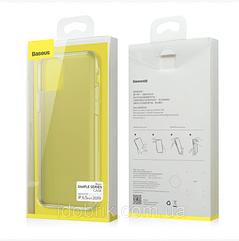 Чехол Baseus прозрачный для iPhone 11 Pro со шнурком ( темный )