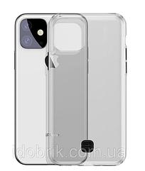 Чехол Baseus прозрачный для iPhone 11 Pro Max со шнурком( темный)