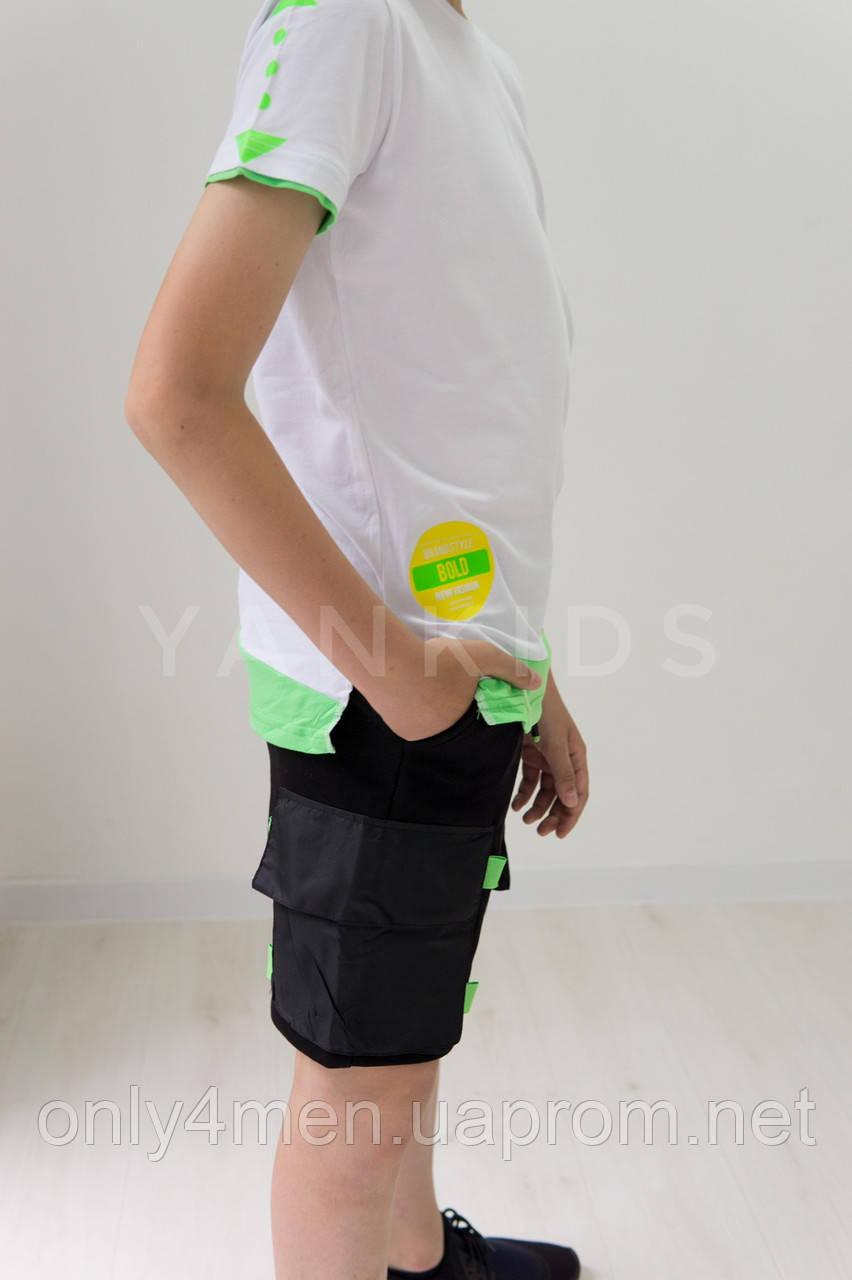 Трикотажные шорты  для мальчика 134-164см