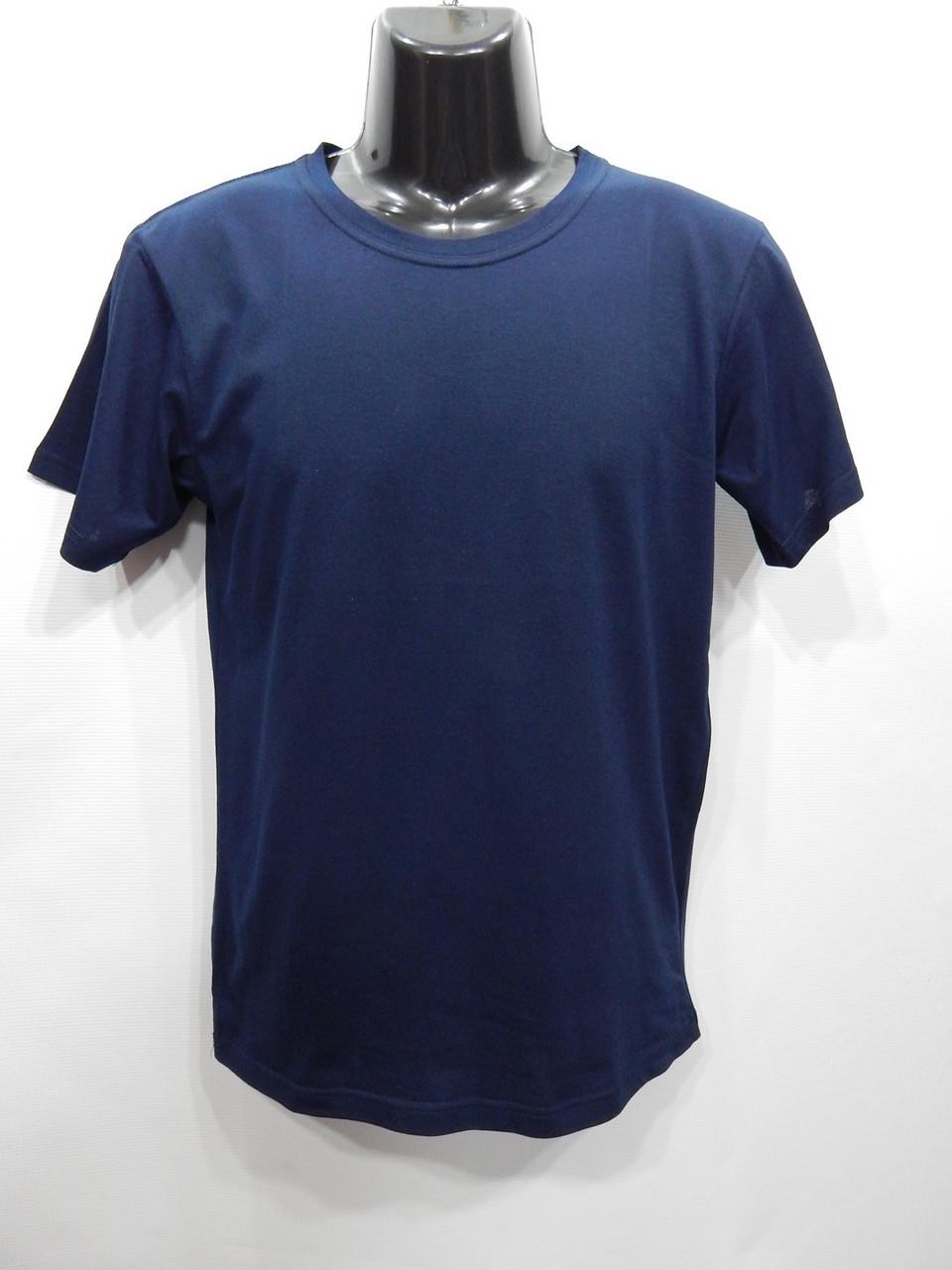 Чоловіча футболка Mercury-Textile темно-синя р. 48 068мф