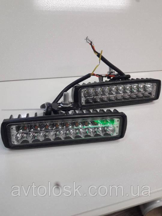 LED -фари-далекі біло/жовті.12/32вольт.