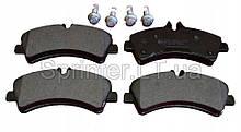Колодки тормозные зад. MB Sprinter 509-519CDI/VW Crafter 50, 06- (спарка) TEXTAR 2921702