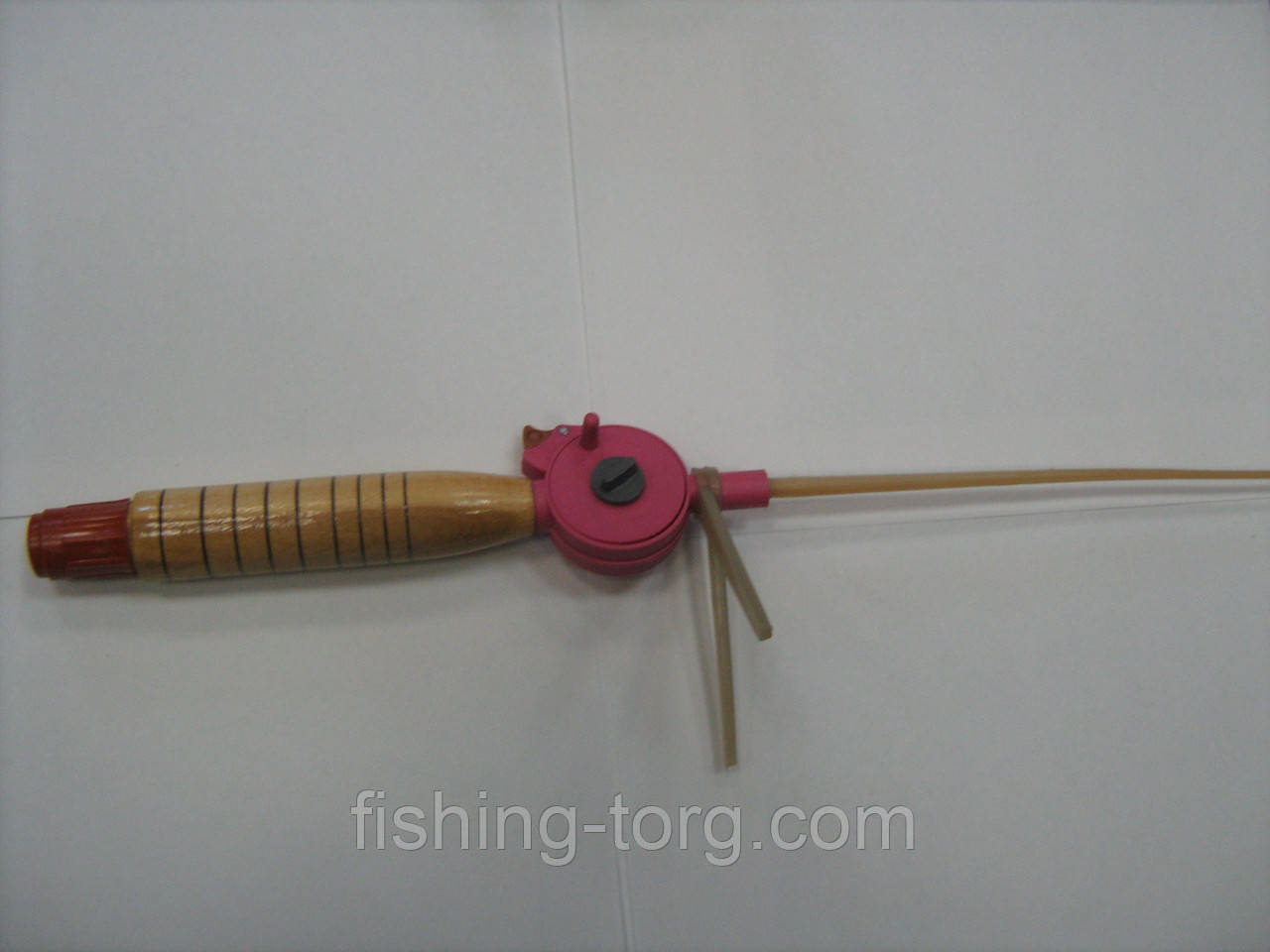 Удочка зимняя *Клева*деревянная ручка