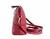 Жіноча сумочка Бембі через плече Червона | Маленька міні сумка з брелоком олень, фото 3