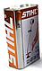 Оригинальное моторное масло STIHL HP (1л) для 2-х тактных двигателей   масло Штиль для бензопилы оригинал, фото 2
