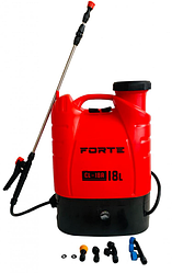 Обприскувач акумуляторний Forte CL-18A   електричний розпилювач рослин з автоматичною помпою Форте