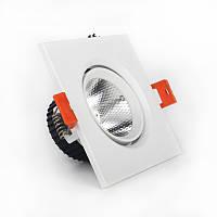 LED Светильник потолочный Белый 5 Вт угол поворота 45° 4100К
