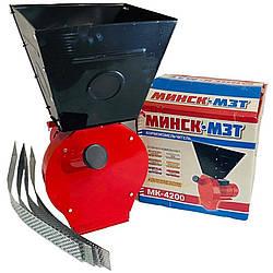 Зернодробарка Мінськ-МЗТ МК-4200 (4,2 кВт, 240 кг/годину)   кормоізмельчітель, крупорушка, дробарка,