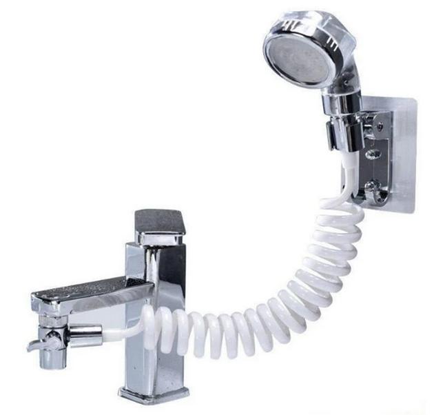 Душова система на умивальник Modified Faucet With external Shower | Насадка душ на кран