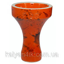 Чаша Fog Assassin Full-Glazed Оранжевый с черным
