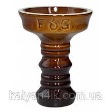Чаша Fog Sakura Full-Glazed Коричнево-черный