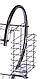Сушка для посуду Benson BN-004 з нержавіючої сталі 2 рівня 39*39*25 см | кухонні сушарка для посуду Бенсон, фото 5