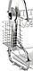 Сушка для посуду Benson BN-004 з нержавіючої сталі 2 рівня 39*39*25 см | кухонні сушарка для посуду Бенсон, фото 7