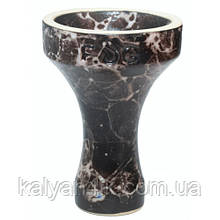 Чаша Fog Assassin Full-Glazed Черно-белый мрамор