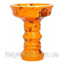 Чаша Fog Sakura Full-Glazed Оранжевый с черным