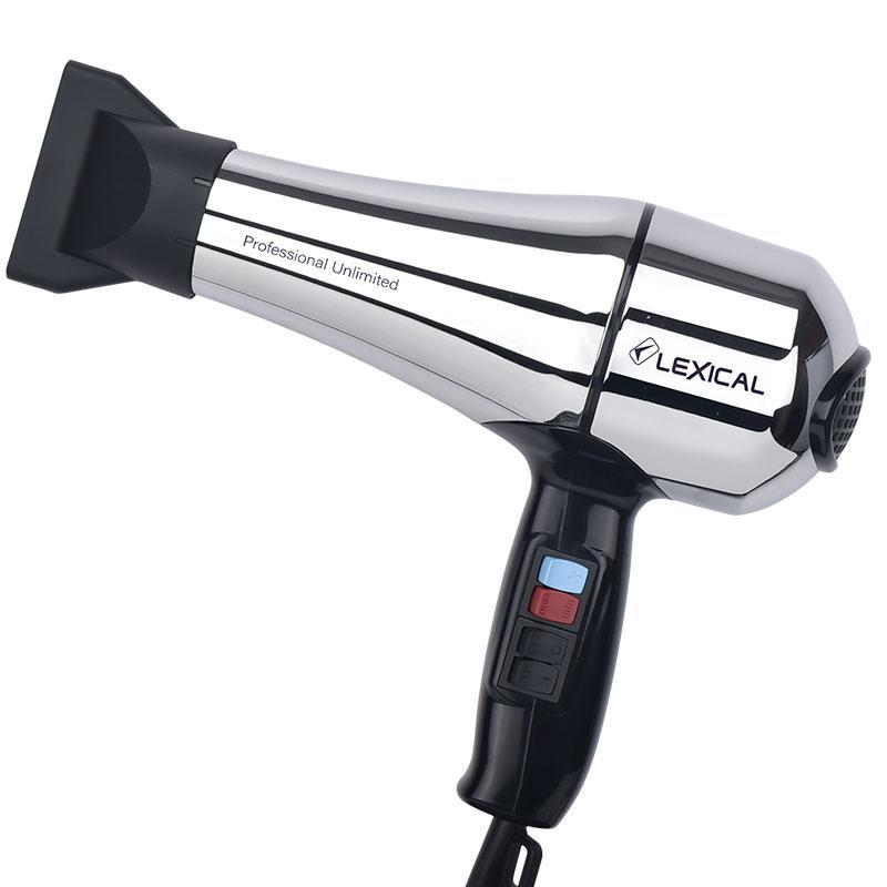 Професійний фен Lexical LHD-5006 (2000 Вт)   фен для волосся з насадкою   фен потужний з концентратором