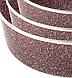 Набір противнів для випічки LEXICAL LG-640301-4 | форма для випічки антипригарна | деко для запікання, фото 2