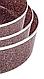 Набір противнів для випічки LEXICAL LG-640301-4 | форма для випічки антипригарна | деко для запікання, фото 5
